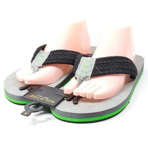 Gold Toe Thong Flip Flop Sandals Men's 9